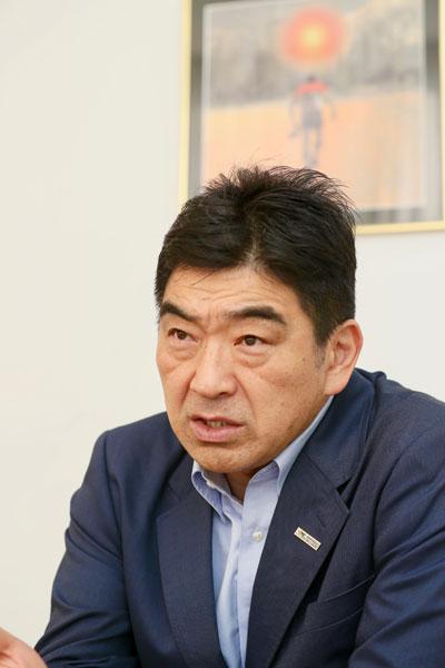 5月15日に就任した太田治チェアマン photo by Kenji Demura